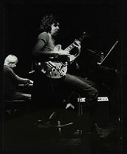 Michael Garrick and John Etheridge playing at The Stables, Wavendon, Buckinghamshire. Artist: Denis Williams
