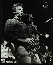 The Daryl Runswick Quartet in concert at The Stables, Wavendon, Buckinghamshire, 1981. Artist: Denis Williams