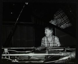 Brian Dee on the piano, Lansdowne Studios, Holland Park, London, 1989. Artist: Denis Williams