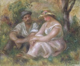 'Conversation', 1912. Artist: Pierre-Auguste Renoir.