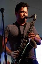 Brandon Allen, Jazz Hastings, East Sussex, 2011.  Artist: Brian O'Connor.