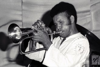 Eddie Henderson,  Ronnie Scott's, London, 1973.  Artist: Brian O'Connor.