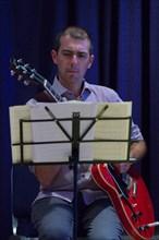 Chris Allard, Watermill Jazz Club, Dorking, Surrey, 2014. Artist: Brian O'Connor.