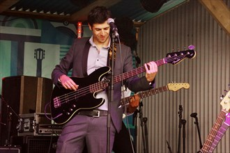 David Amar, Love Supreme Jazz Festival, Glynde Place, East Sussex, 2014. Artist: Brian O'Connor.