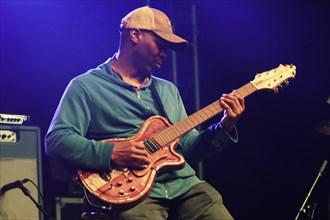 Kevin Eubanks, Love Supreme Jazz Festival, Glynde Place, East Sussex, 2014. Artist: Brian O'Connor.