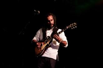 Araf Najak, Love Supreme Jazz Festival, Glynde Place, East Sussex, 2014.   Artist: Brian O'Connor.