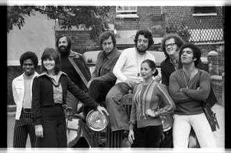 Sergio Mendes (and group), London, 1973.   Artist: Brian O'Connor.