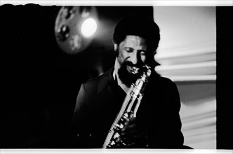 Sonny Rollins, Ronnie Scott's, 1974.   Artist: Brian O'Connor.