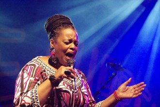 Dianne Reeves, Love Supreme Jazz Festival, Glynde Place, East Sussex, 2015. Artist: Brian O'Connor.