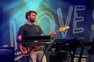 Jon Harvey, Love Supreme Jazz Festival, Glynde Place, East Sussex, 2015. Artist: Brian O'Connor.