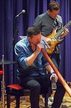 Paul Booth, Watermill Jazz Club, Dorking, Surrey, September 2015. Artist: Brian O'Connor.