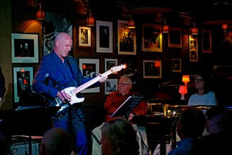 Andy Drudy, Ronnie Scott's, Soho, London, 5th July 2016. Artist: Brian O'Connor.