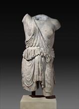 Statue torso, Roman, c2nd century. Artist: Unknown.