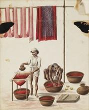 Dyers, 1840-1850. Artist: Unknown.