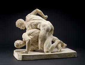 Reduced version of Uffizi Wrestler Group, c2nd-4th century. Artist: Unknown.