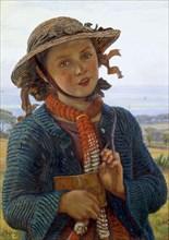 The School-Girl's Hymn, 1859. Artist: William Holman Hunt.