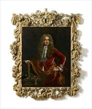 Elias Ashmole, c1681-1682. Artist: John Riley.