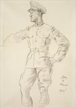 Portrait of Aircraftsman T.E. Shaw (Lawrence of Arabia), 1935. Artist: Augustus John.