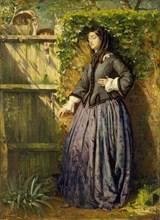 Broken Vows, 1857. Artist: Philip Hermogenes Calderon.