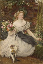 The Nosegay, 1865. Artist: Ford Madox Brown.