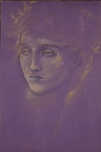Head of a Woman, late 19th century. Artist: Sir Edward Coley Burne-Jones.