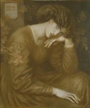 Reverie, 1868. Artist: Dante Gabriel Rossetti.