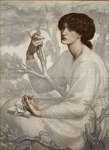 The Day Dream, late 19th century. Artist: Dante Gabriel Rossetti.