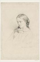 Josephine Butler, Early Feminist Campaigner, 1856. Artist: William Bell Scott.