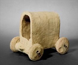 Wagon model, c2000BC. Artist: Unknown.