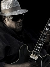 Bluesman, 2011. Artist: Alan John Ainsworth.