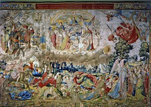 The Revelations', a collection of eight panels woven in Brussels in the sixteenth century. 'The F?