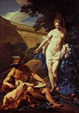 'Education of Love by Mercury and Venus', 1748, by Louis Michel Van Loo.