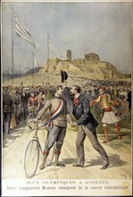 First Olympic Games of the modern era in Athens in 1896, the French Masson was the winner of the ?