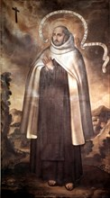 San Juan de la Cruz (Juan de Yepes Álvarez) (1542-1591), Spanish writer, theologian and religious.