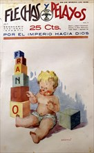 Children's magazine 'Flechas y Pelayos', published in 1939 in San Sebastian.
