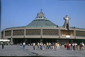 Mexico City, new Basilica of Guadalupe, patroness of Mexico and Empress of the Americas, inaugura?