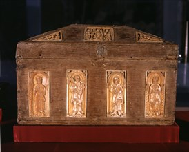 'Ark of the ivories', about 1059 from the Collegiate Church of San Isidoro.