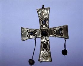 Cross of the Torredonjimeno Treasury (Jaén).