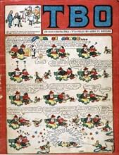 Cover of the children's magazine 'TBO'. Barcelona, II era, No. 11.