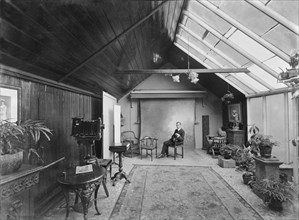 The studio of Kirk & Sons of Cowes, Isle of Wight, August 1935. Creator: Kirk & Sons of Cowes.