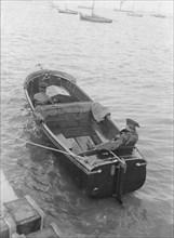 Venetia's Wolseley motor launch, 1914. Creator: Kirk & Sons of Cowes.