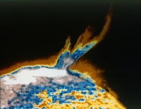 Solar eruption or flare. Creator: NASA.