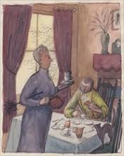 Boarding house landlady, 1952. Creator: Shirley Markham.