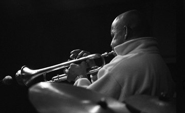 Eddie Henderson, Tenor Clef, Hoxton Sq, London, Jan 1993. Creator: Brian O'Connor.