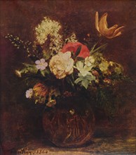 Bowl of Flowers', 1864, (1935).