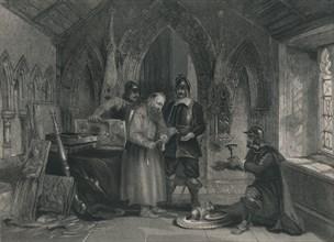 Plunder of Monasteries', 19th century.