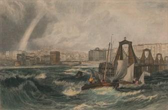 Brighthelmston, Sussex', 1825.