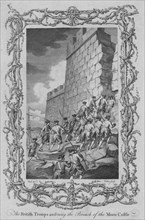 The British Troops entering the Breach of the Moro Castle', (c1770s).