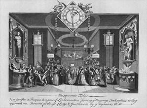 Masquerade Ticket', 1727, (1827).