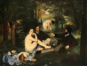 The Picnic', 1863, (1937).